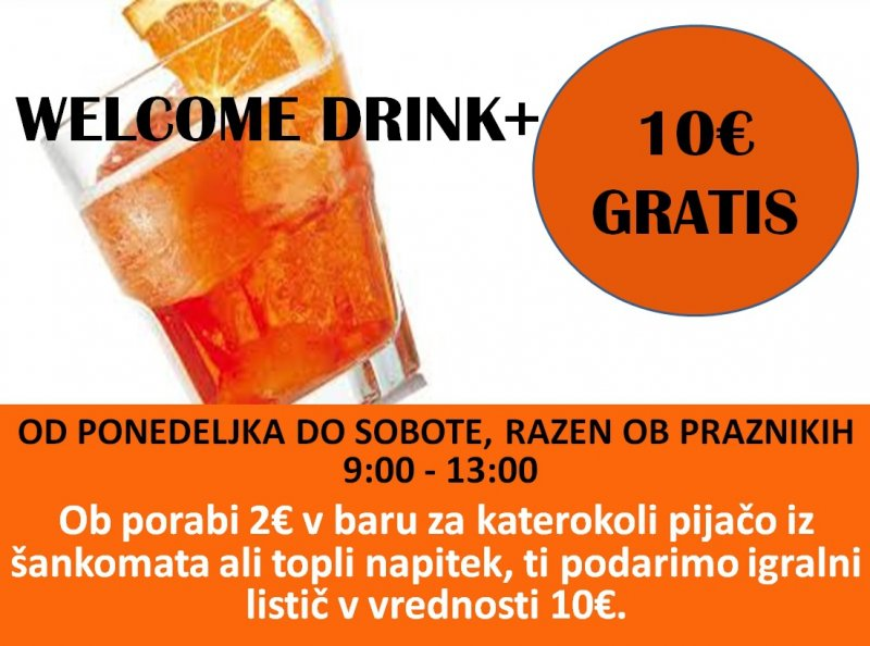 welcome drink slo